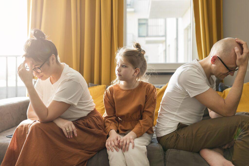 Scheidung mit Kindern